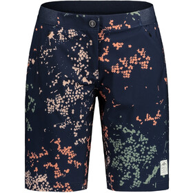 Maloja AnemonaM. Printed Multisport Shorts Women night sky mille fleur